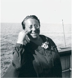 Emmy Noether 1932